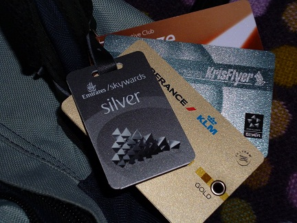 Frequent Flier Luggage Tags
