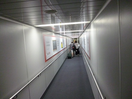 Boarding Tunnel For Emirates First And Business Class