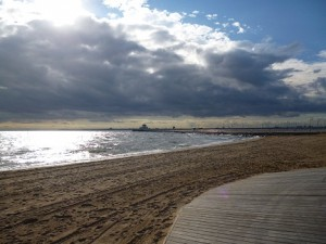 Views Of St Kilda Beach