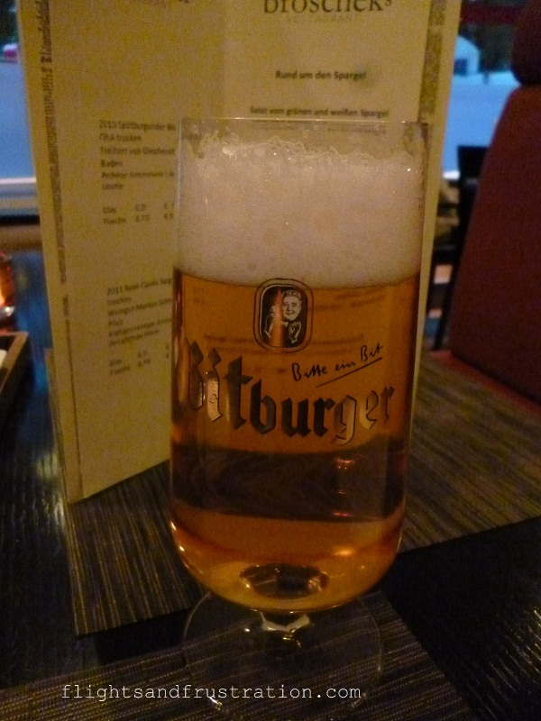 A German beer