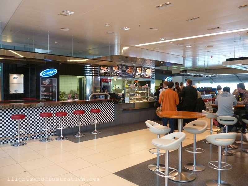 Cindy's restaurant in Hamburg airport