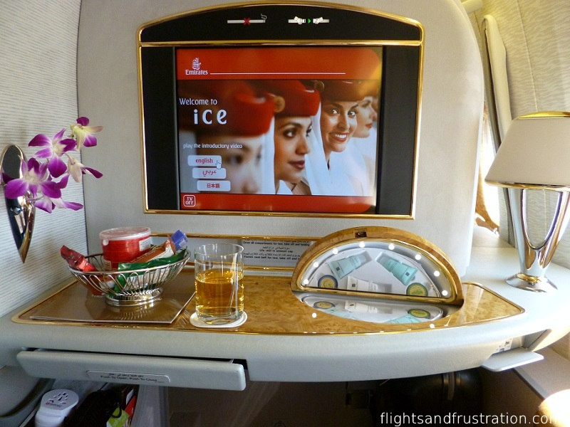 Emirates First Class Review Of On The B777 300