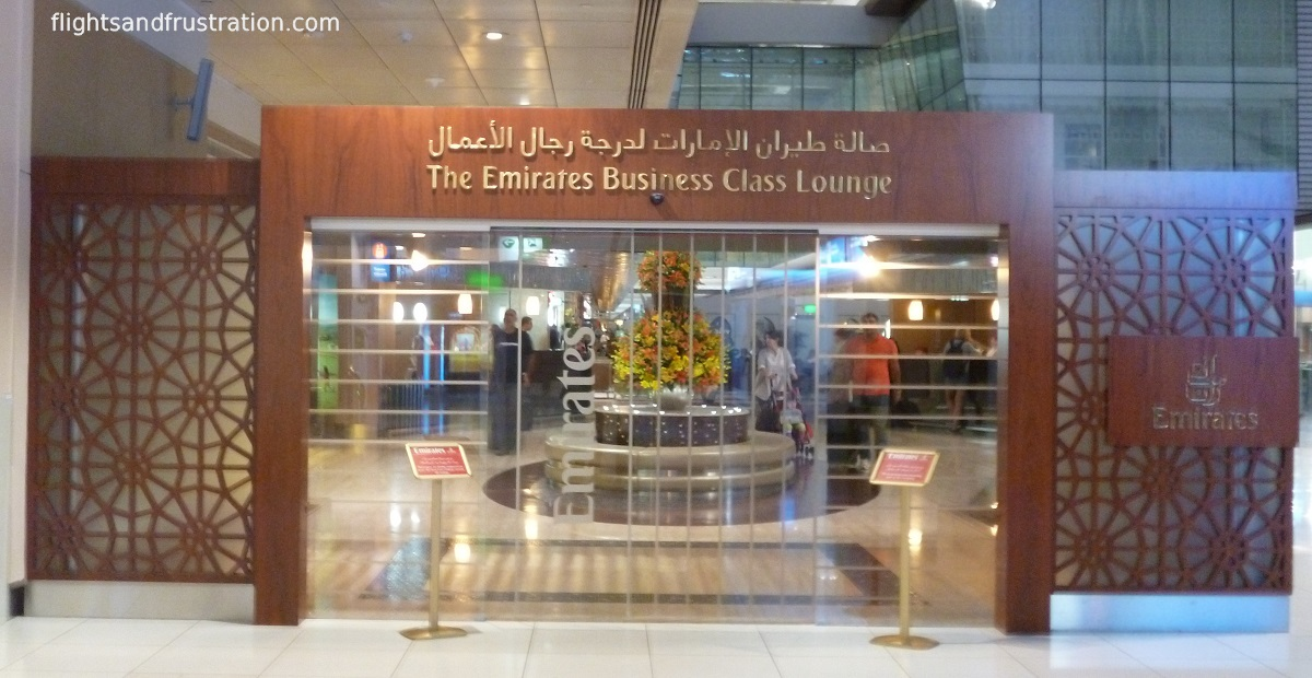 Photographic Tour Of The Emirates Business Class Lounge