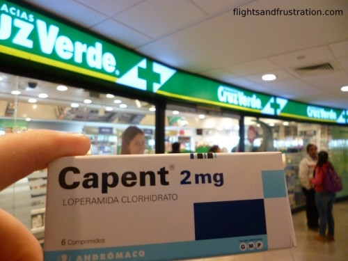 Imodium Chile style - a cure for being ill abroad