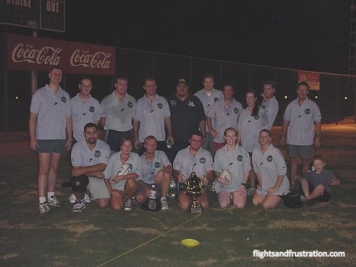 Some members of the Riyadh Rugby Club in 2001