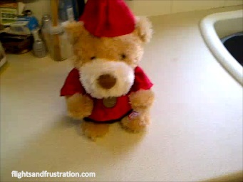 Cute Teddy Bears - here's one for Christmas