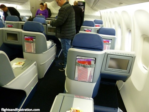 New 1-2-1 Business Class seat plan on Delta B767-300