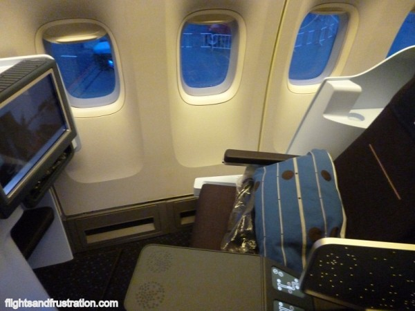 The new Business Class seat on KLM