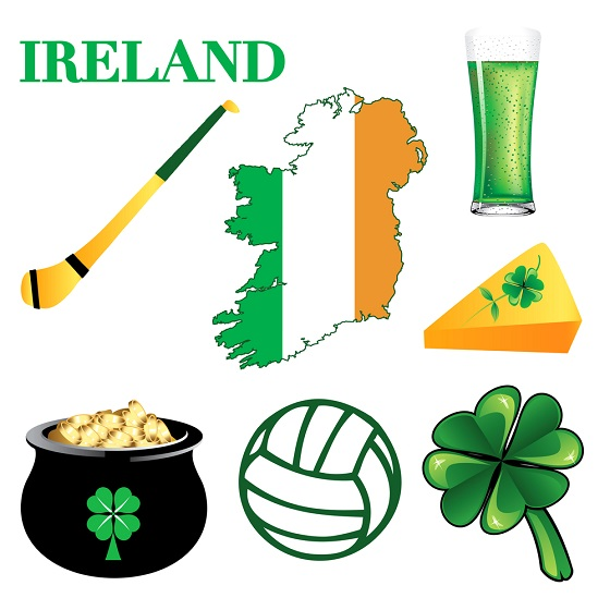 Gaelic Football and other symbols of Ireland