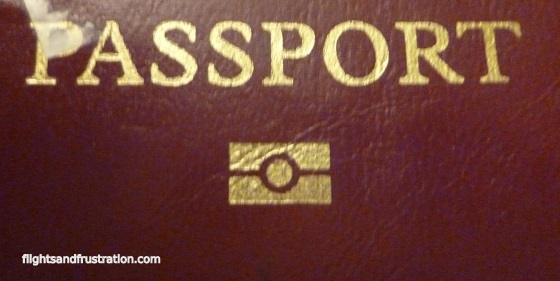 Symbol saying my passport is suitable for E-Passport Gates