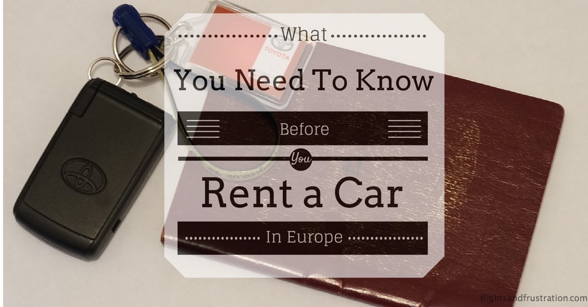 will you rent a car in europe this year then you need to read this. Black Bedroom Furniture Sets. Home Design Ideas