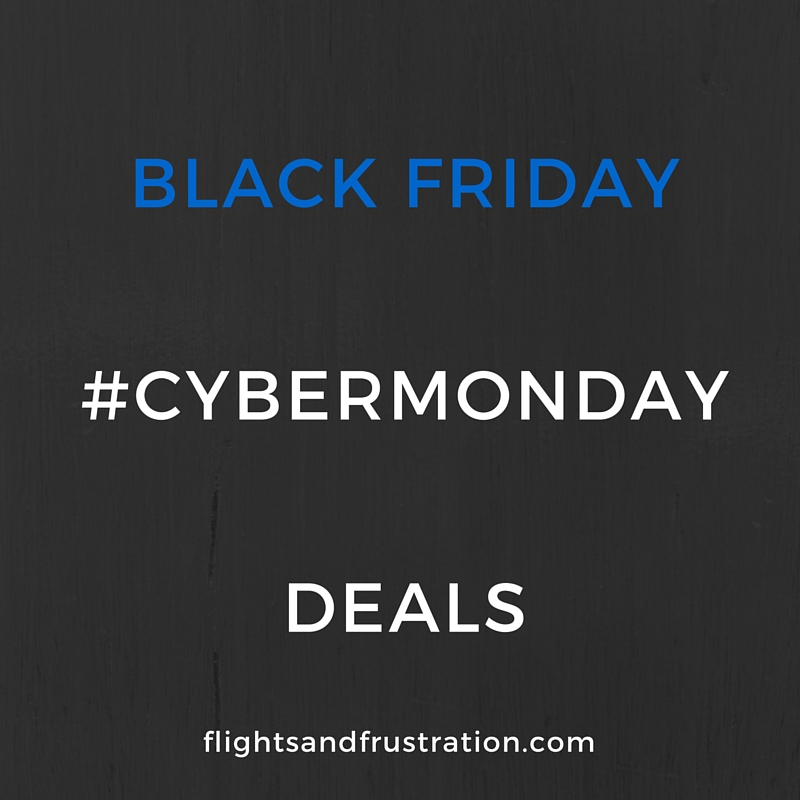 Black friday and cybermonday deals for travellers and for Black friday flight deals international flights