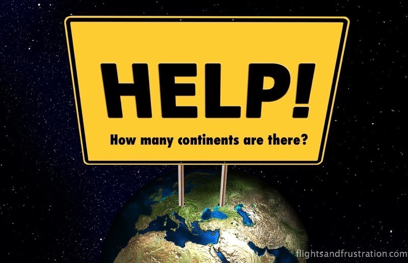How Many Continents Are There In The World-8537
